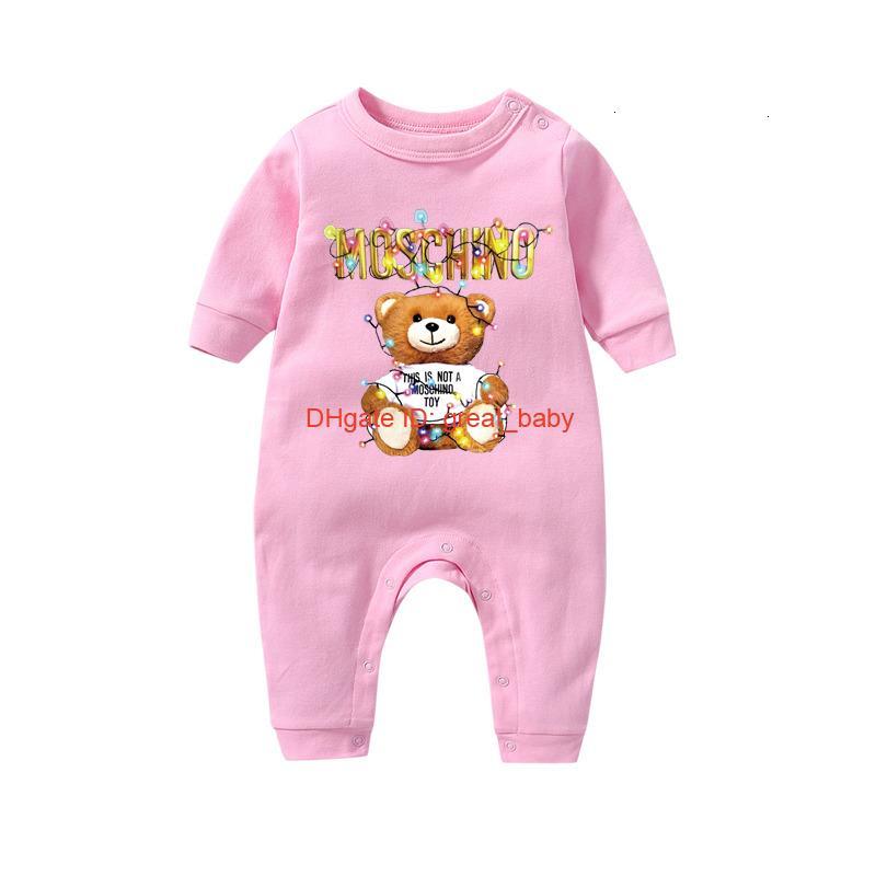 Nouveau bébé barboteuses Printemps Automne Vêtements bébé garçon nouveau-né Romper coton bande dessinée pour enfants nourrisson Tenues 09266