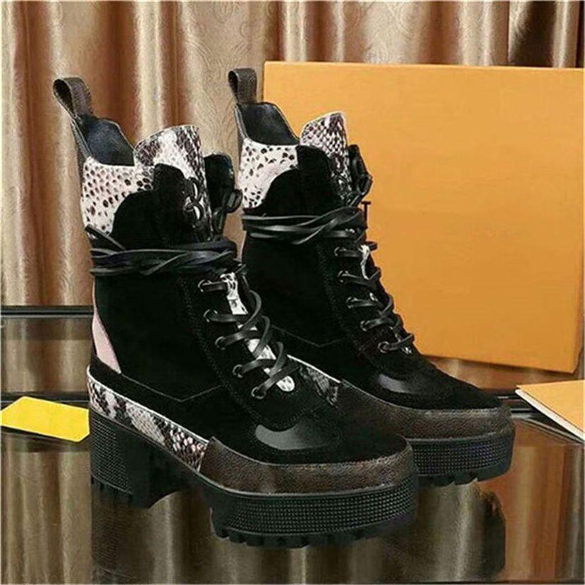 Knie Desert Boot der neuen Ankunfts-Damen Australien Laureate Stiefel Stiefel Turnschuhe Leder Laureate Plattform 1a4h0f mit Kasten 5cm Heel