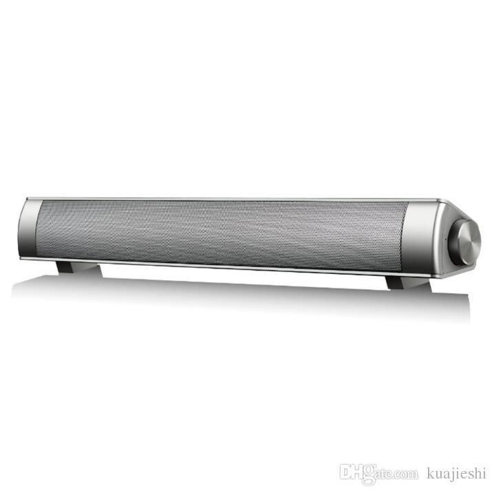 Modèles d'explosion transfrontalière Haut-parleur Bluetooth Sound-Blaster LP-08 Barre de son Echo Haut-parleur mural Longue sans fil Puissance maximale 10w