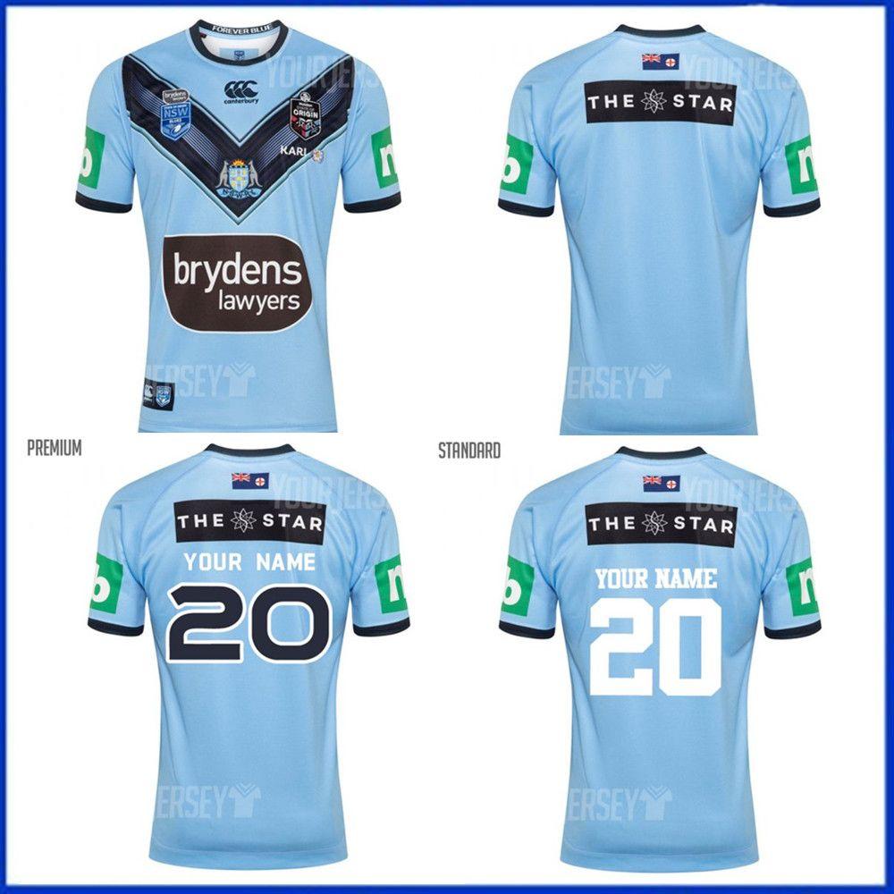 2020 NSW BLUES ESTADO DE ORIGEM tamanho PRO JERSEY S-M-L-XL-XXL-3XL-4xl-5XL