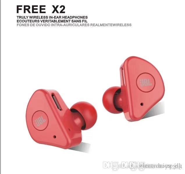 Bluetooth cuffia anc blu rosso nero colore bianco gancio per l'orecchio senza fili Bluetooth Stereo Sport auricolari cuffie 4.2 calerix wireless