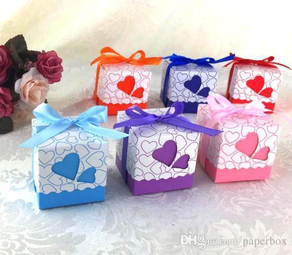 Love heart candy box Treat Boxes Birthday Boxes Party Boxes Birthday Party Gift Box Wedding Favor