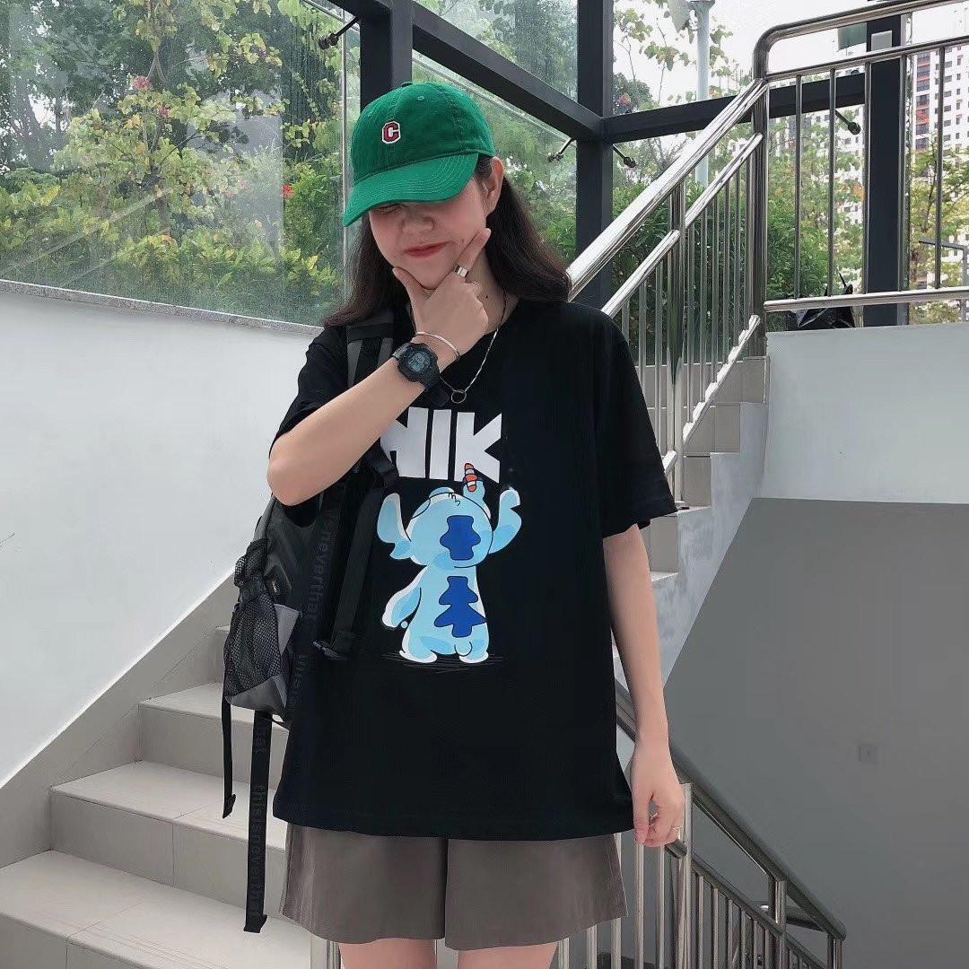 남성 여성 T 셔츠 2020 새로운 도착 패션 캐주얼 고품질 여름 반팔 화이트 블랙 블루 SL200602