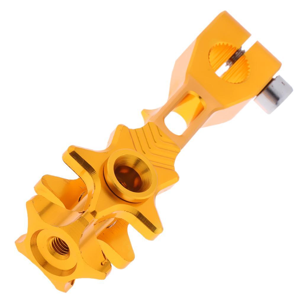دراجة نارية الفرامل الخلفية الروك ذراع / ليفر الألومنيوم CNC لYAMAHA