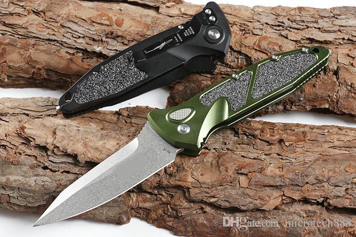 Рекомендуют 136 Горизонтальный Складной нож (два цвета) Охотничий складной карманный нож выживания нож Xmas подарок для мужчин копий D2