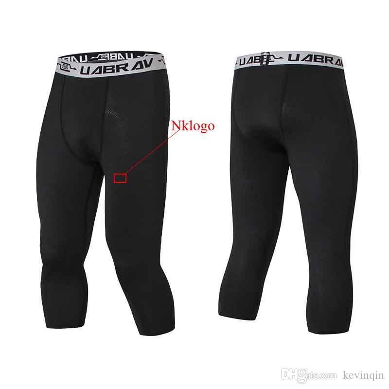 NOUVEAU 2019 été automne automne maigre GYM Running collants capris stretch respirant séchage rapide pro football formation legging pantalon