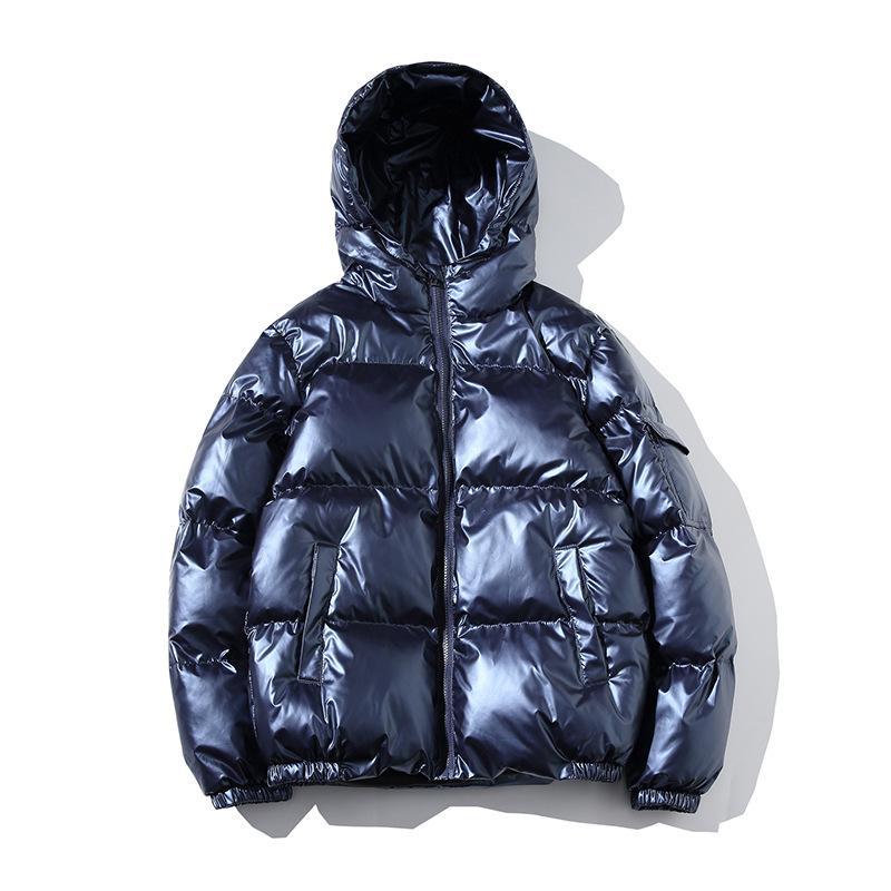 TANG Chaqueta Parka Hombres 2019 nuevo de la manera caliente de la venta calidad caliente del invierno Outwear Delgado abrigos para hombre Casual cortavientos JacketsMasculinity