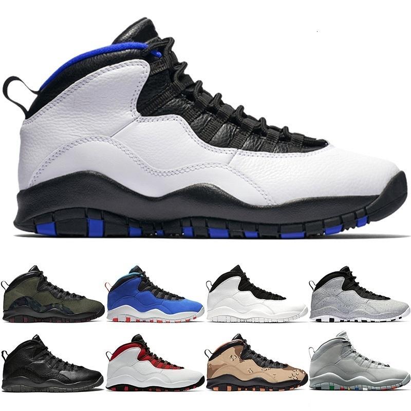 Neue 10 Männer Basketball Schuhe 10 s Wüste Camo Cement Woodland Camo Orlando Tinker Herren Trainer Athletic Sports Turnschuhe Günstige Größe 41-47