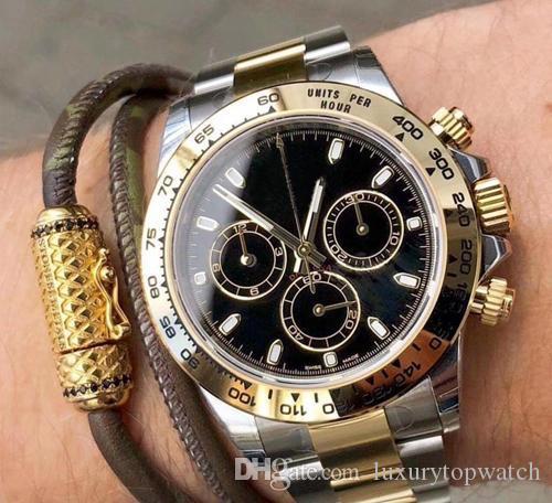 2020 Hot Sale Herren Automatikuhr Bewegung Uhr Vollsaphirglas TONA Serie M116519 Simple Silver Dial Stahlband Meister Herrenuhren