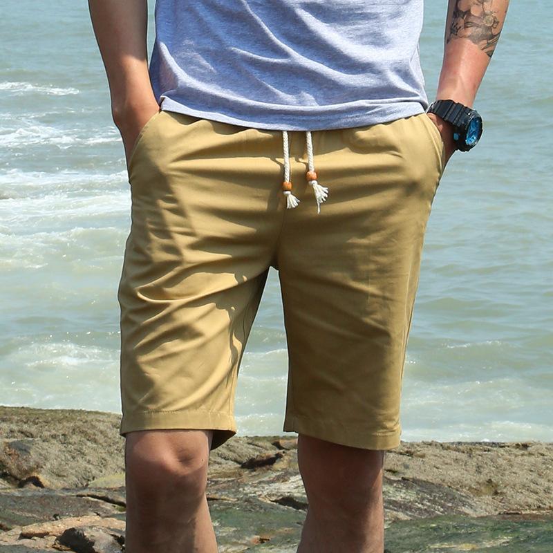Heiße neue chinesische stil marke hohe qualität große männer bord männer baumwolle plus größe beiläufige männliche sommer shorts fett C19042101