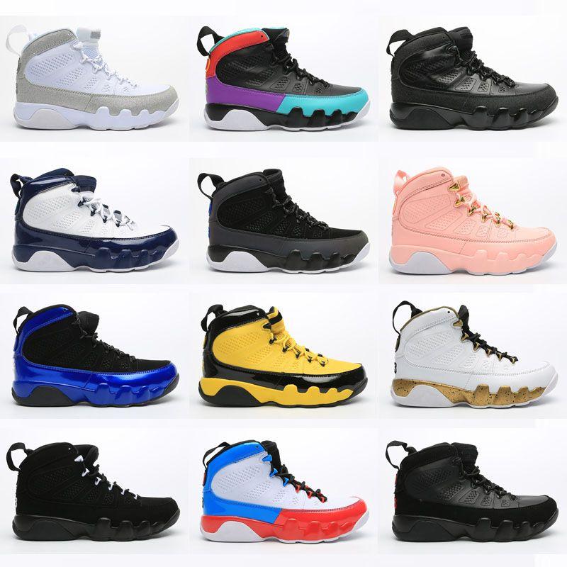 2020 Jumpman Designer 9 9s tênis de basquete homens sonham isso Faça isso preto branco Antracite criados Space Jam esportes tênis dos homens formadores qinmin123