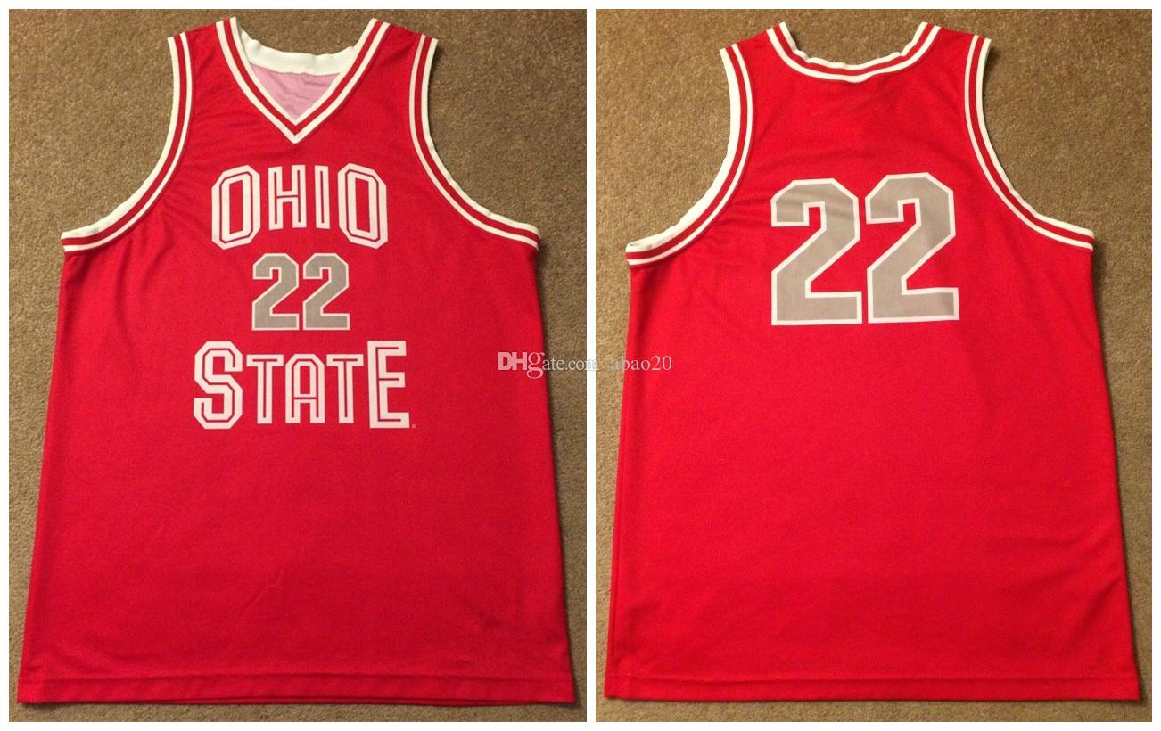 2019 Michael Redd 22 Ohio State Buckeyes College Basketball Jersey Men S Retro Embroidery Stitched Custom Any Number And Name Jerseys From Abao20