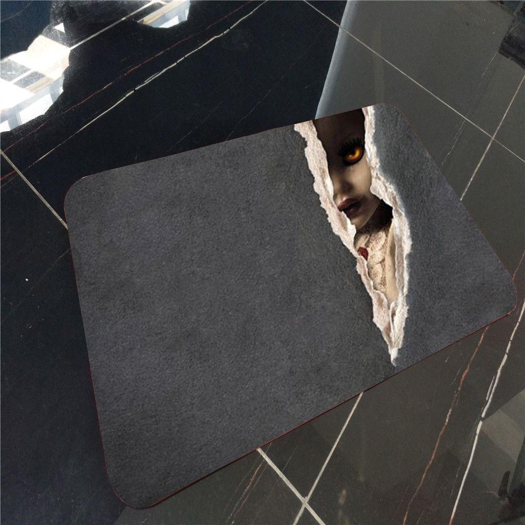 40x60cm Happy Halloween fantôme citrouille Taro Flanelle Tapis antidérapant Tapis de mariage Décorations de Noël Décor Runners étage