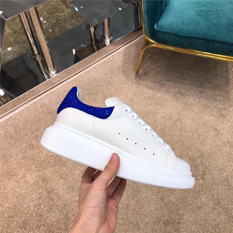 Schöne Mädchen Partei-Qualitäts-Leder Sneakers Flache Runners Trainer Schuhe neue heiße beiläufige Schuh-Frauen-Art-
