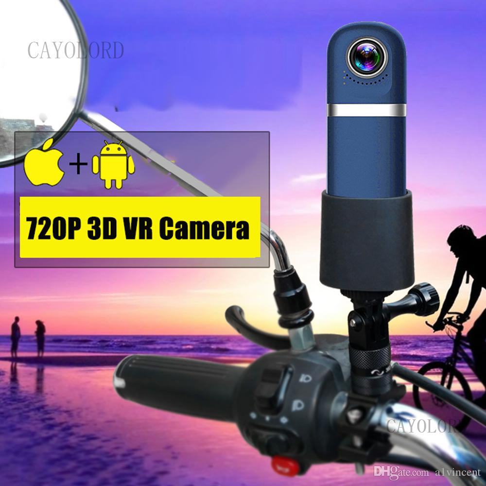 3D عرض بانورامية 10MP 360 VR WIFI كاميرا HD 1080P قيادة السيارة مسجلة DVR كاميرا فيديو كاميرا صغيرة