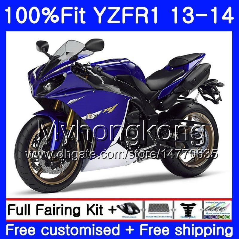 사출 성형기 YAMAHA YZF 1000 YZF R 1 YZF1000 YZF R1 13 14 242HM.36 YZF-1000 YZF-R1 YZFR1 2013 2014 전체 공정 키트 다크 블루 재고