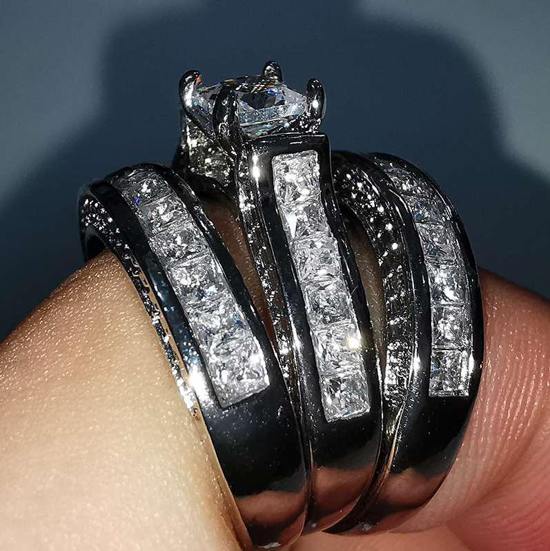 womens Simple iced out rings fashion Jewelry rings Fashion Love Token Hight quality Hot Sale