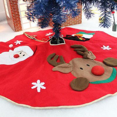 42inch Elk Baum Rock Weihnachtsbaum Röcke XMAS Dekoration Frohe Weihnachten Party Supplies Dekoration