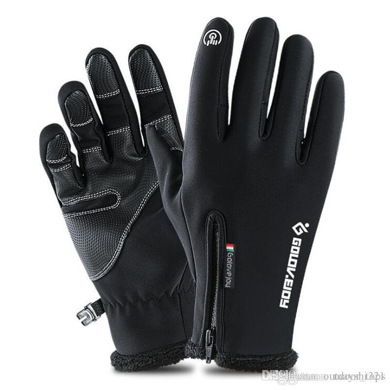 Snow Sports Ski Gants de ski Écran tactile Ski étanche Terrain de protection Hiver Cyclisme Vélo Gants Protection du vent pour hommes et femmes