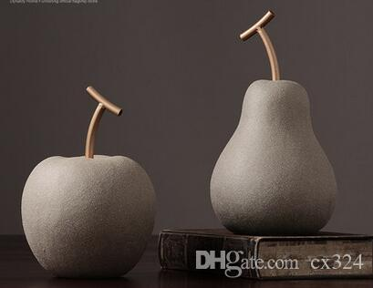 Nordic ceramic ornaments modern minimalist home office decoration furnishings soft model room bedroom creative
