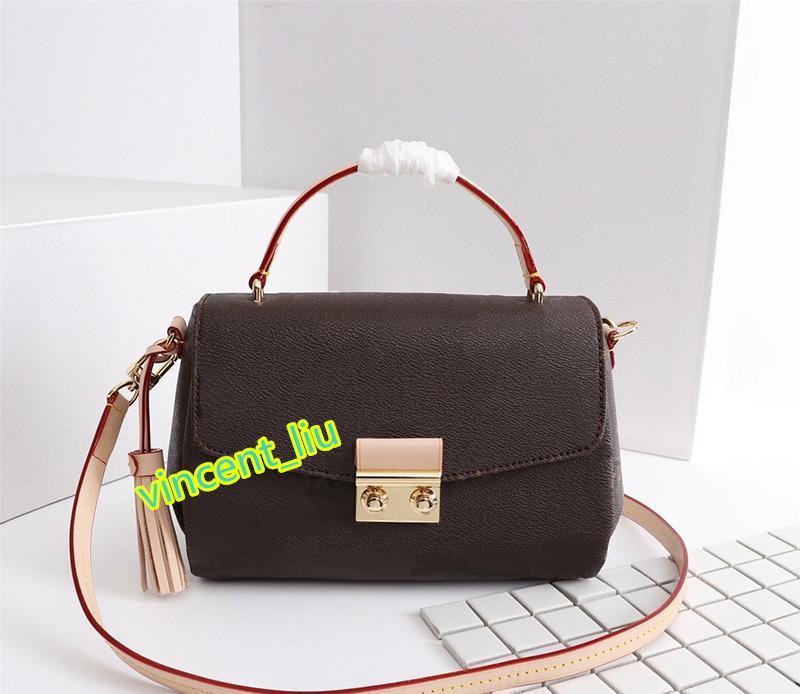 bolsa de ombro estilo europeu e americano marca clássica bolsa da embreagem designer de saco para mulheres com N53000 alça removível