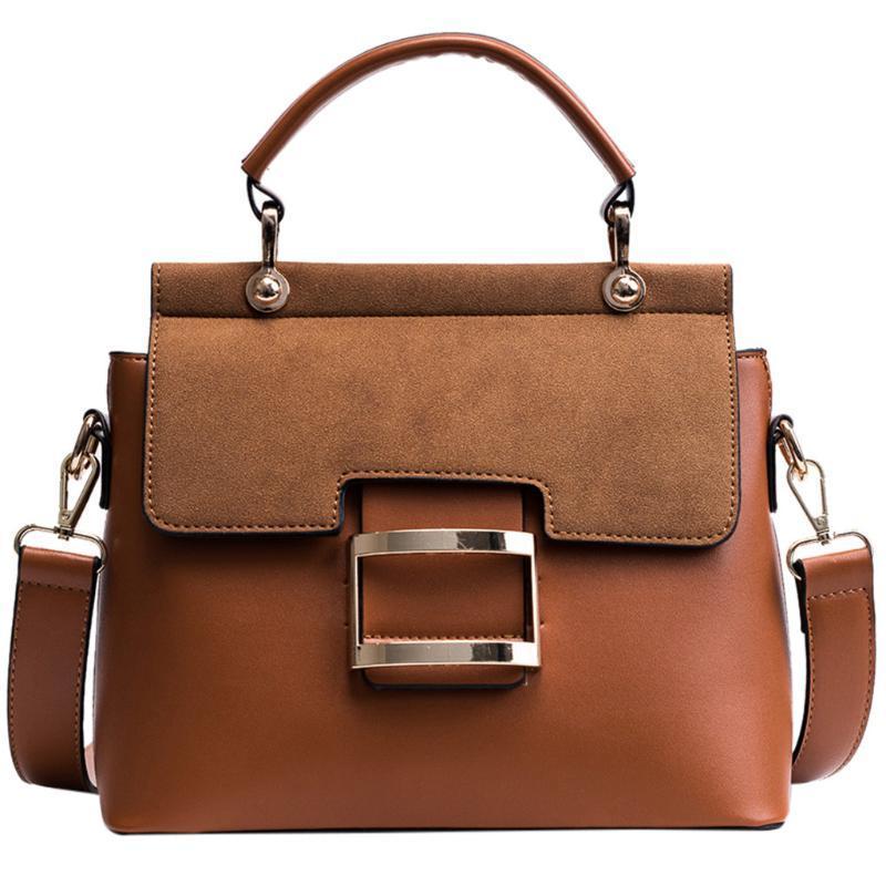 Le nuove donne Flap Handbag Fashion Casual Nubuck Borsa a tracolla Retro Lady Crossbody Bag Messenger Elegante Clutch Purse