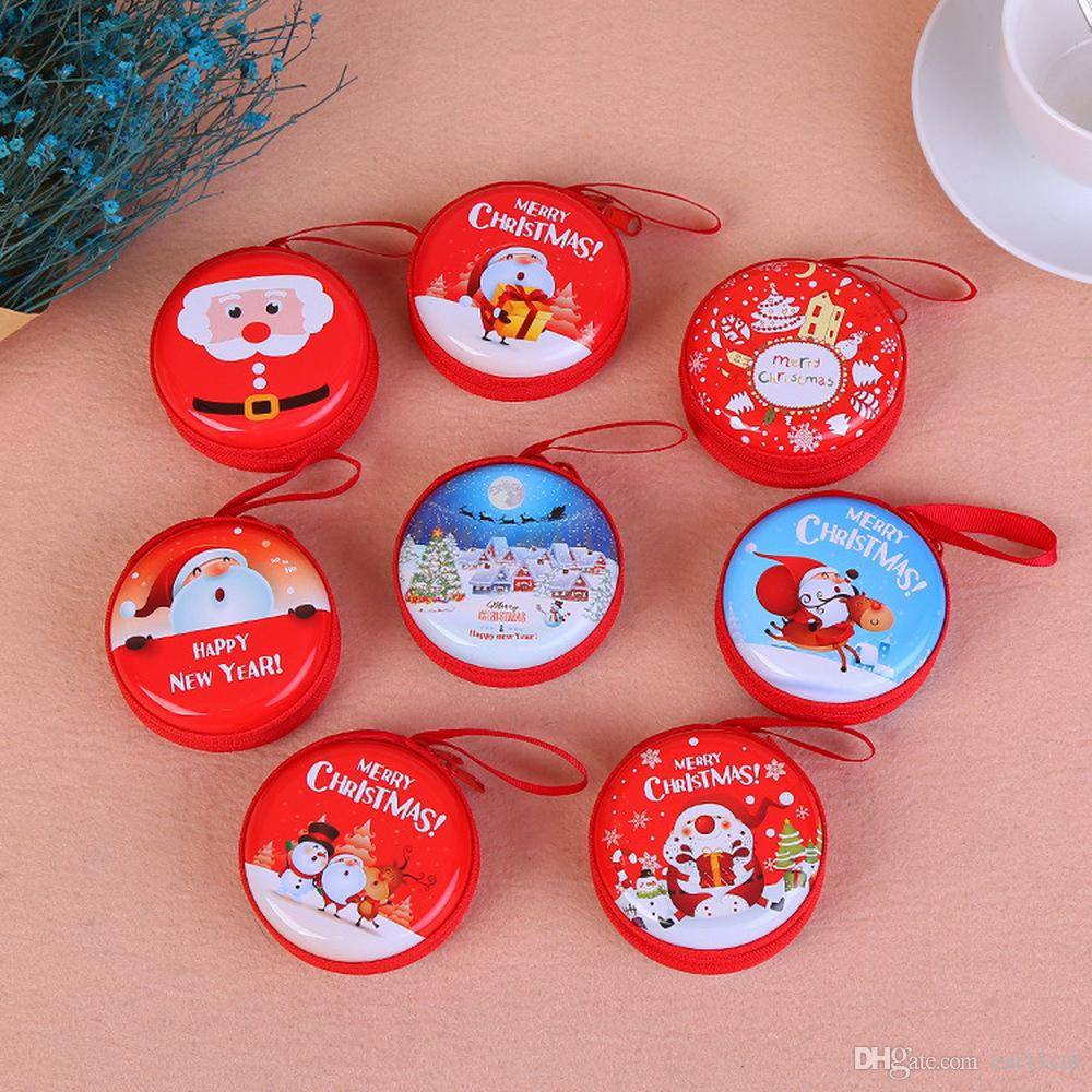 Capodanno 2020 moneta del sacchetto di ornamenti di Natale per la casa 2019 Buon regalo di Natale Navidad Noel Enfeites De Natal Cristmas Decor