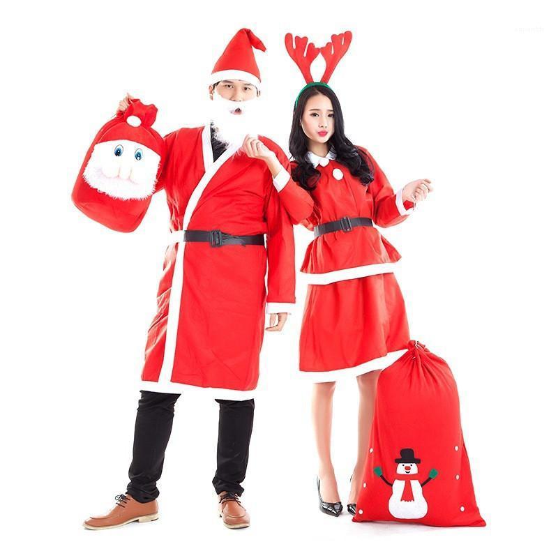 Designer Unisex Weihnachtsmann Cosplay Winter Party Kleidung Weihnachten Cosplay