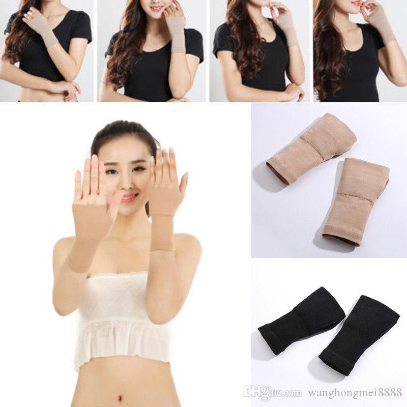 1PC Elastic Wristband Wrist Brace Support Compression Sleeve Palm Protector CrossFit Fitness Gloves Carpal Tunnel Plus Size XXL