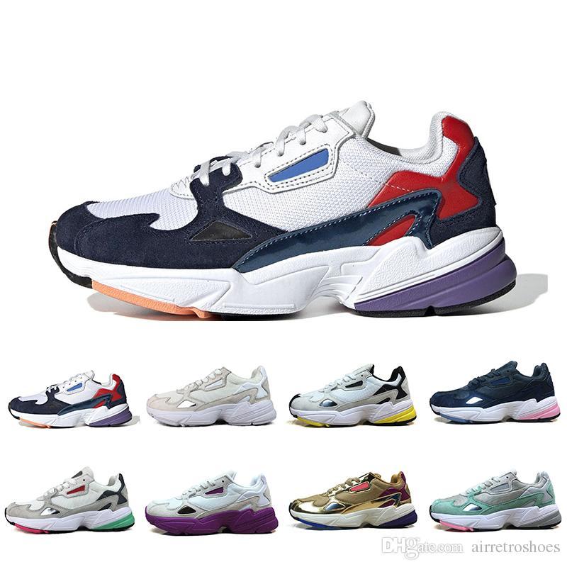Acheter Adidas 2019 Falcon W Papa Chaussures Pour Femmes Hommes Haute Qualité Designer Sport Sneakers Originaux Jogging À Lextérieur 36 45 De 36,85 € ...