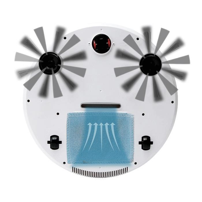 متعددة الوظائف الروبوت مكنسة كهربائية التلقائي 3 in1 والذكية الطابق كنس الاوساخ الغبار الشعر الكناس الرئيسية USB الجاف الرطب كنس