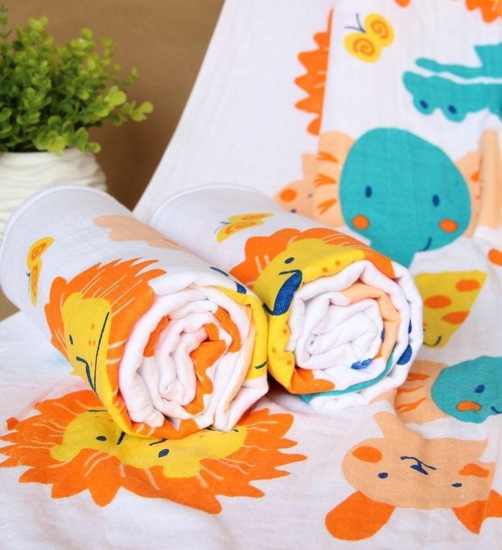 prodotti materna e infantile a doppio strato a nido d'ape garza piccolo bagno bambini puri del cotone del bambino telo da bagno asciugamano neonato