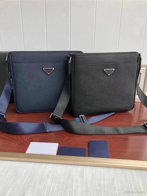 Man Cross Body Shoulder Bags Cross Leather handbags 2018 brand fashion luxury designer bags famous shoulder bag bagsdesigner Fashion Model5