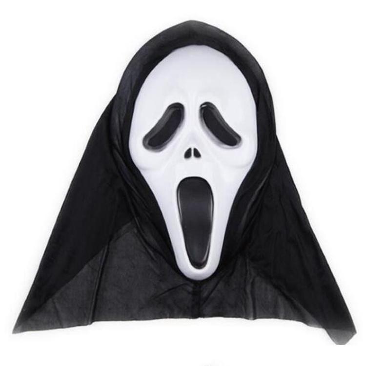 Horreur Masques de crâne Halloween Party masques Décor Pousser un cri squelette Grimace Props facial pour hommes, femmes mascarade Masques DHF279