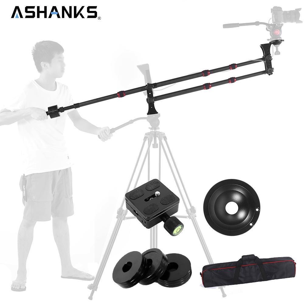 Freeshipping Carbon Fiber MINI jib crane Portable Jib Arm for Photography Tripod / DSLR Video Camera Standard Version+Bag Load 10KG