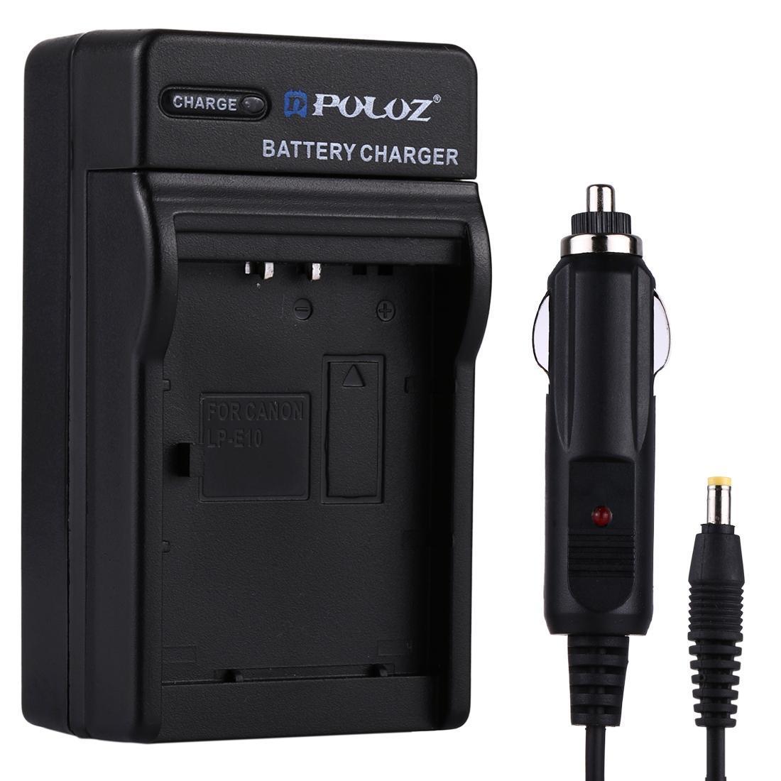 Chargeur de voiture de batterie D'appareil photo numérique de PULUZ pour la batterie de Sony NP-BN1