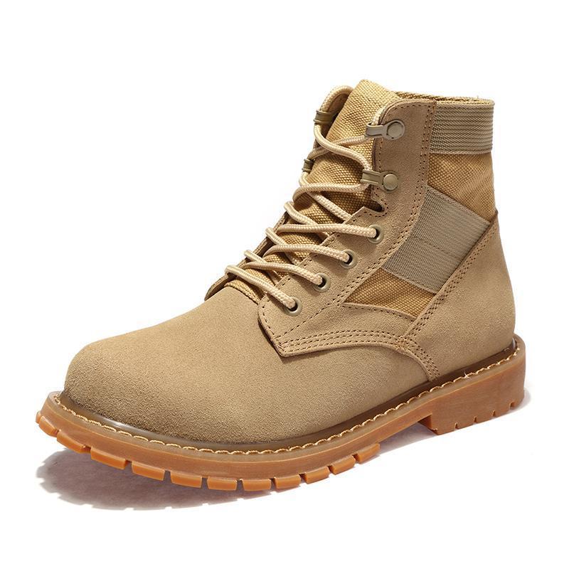 New2019 Automne Hommes Randonnée Bottes Soldats Desert Combat Bottes En Plein Air Chaussures Wearable Bottes Haute Qualité
