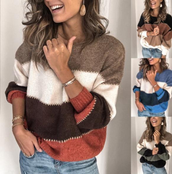 Женская зима ватки свитер моды заплатки Пушистые Толстые свитера Теплые пуловеры с 7 цветов свитер азиатского размера S-5XL