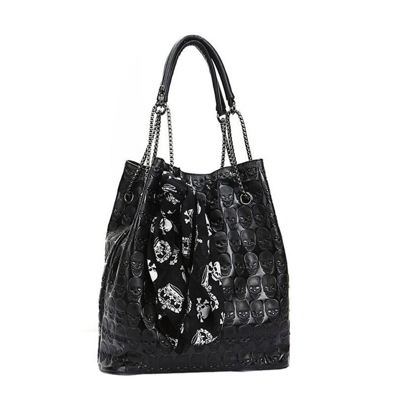 Sacs à main Sacs ocardian Lady 2019 Fashion Grand Skull Sac à bandoulière Femme Chaîne M26 Tote Epaule Dropship pour Tijre