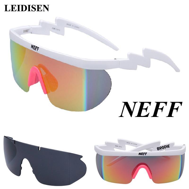 Yeni Moda Neff Güneş Erkekler / kadınlar Unisex Klasik Marka Retro Güneş Glasse Gafas De Sol Sokak 2 Lens Gözlük Feminino C19041001