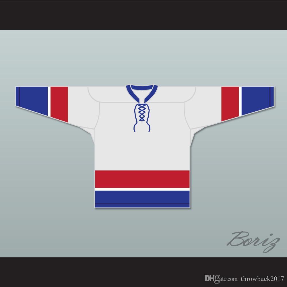 Adam Sandler Happy Gilmore 8 Hockey Jersey costurado personalizado qualquer nome faz Número frete grátis Tamanho S-XXXL