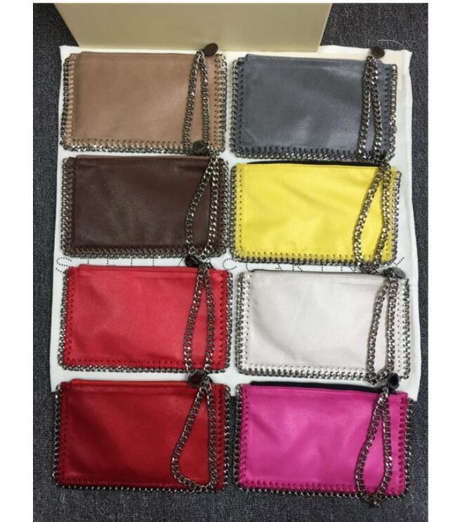 kadın moda cebinde için Designer- toptan Stella altın gümüş zincir cep telefonu çantaları bayan çanta patlama