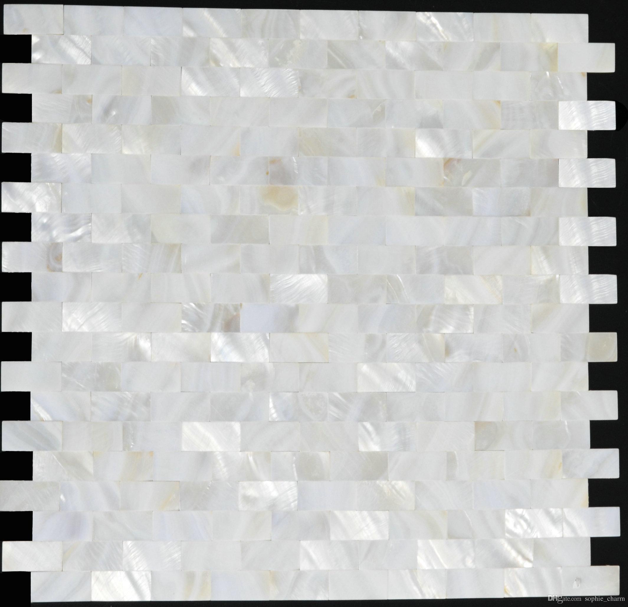 Piastrelle A Mosaico Per Bagno acquista 15x30mm groutless madreperla mosaico mollusco conchiglia cucina  backsplash piastrelle mop008 mattone madreperla conchiglia mosaico bagno a