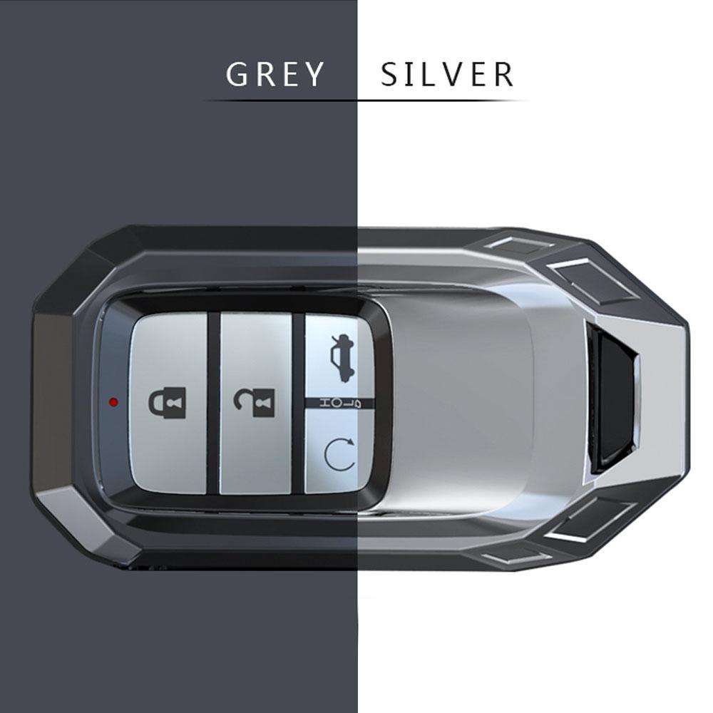 Zinc Alloy Car Remote Key Case Cover For Honda Civic Accord Pilot CRV HR-V City Odyssey Fit Freed 2016 2017 2018 2019