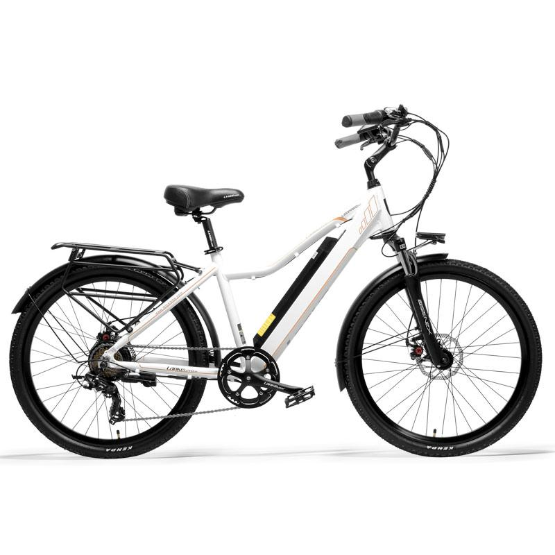 Pard3.0 bicicletta 26 pollici elettrica, 300W City Bike, olio Spring Suspension Fork, Pedale Assist biciclette, Long Endurance