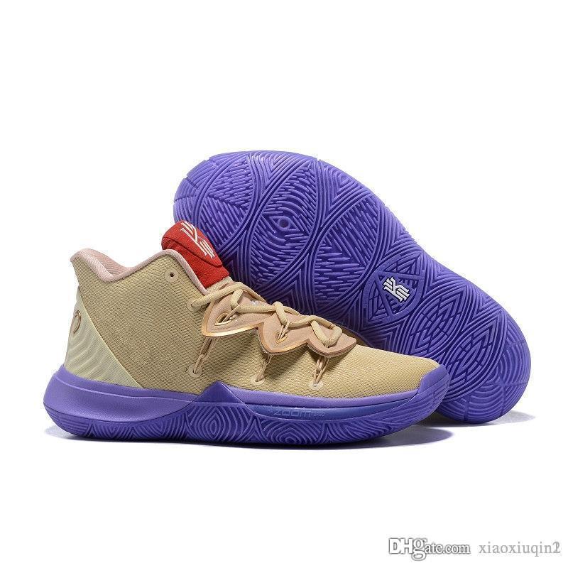Herren kyrie 5 basketball Schuhe zu verkaufen Irving 5 S V taco schwarz weiß BHM Oreo bunte Kinder Stiefel Turnschuhe mit original box