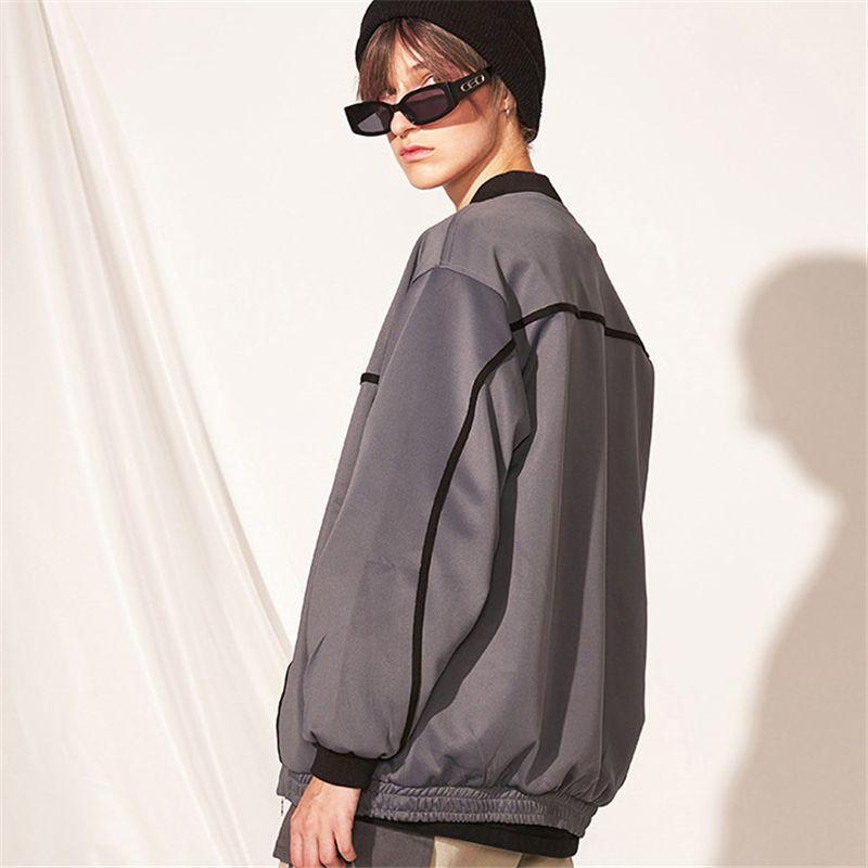 2019 delle donne degli uomini Giacche Designer Brand Streetstyle Zipper casuale rivestimento di modo allentato baseball superiore Coat Outerwears B101752V