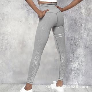 Горячая продажа печать высокой талии спорта высокой эластичности, работающий фитнес-йога Ивы брюки и брюки базовых брюк пят