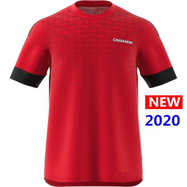 2020 Crusaders Primeblue Super Rugby Jersey New Zealand home Rugby Jerseys camisa Crusaders Performance Tee Singlet s-5xl