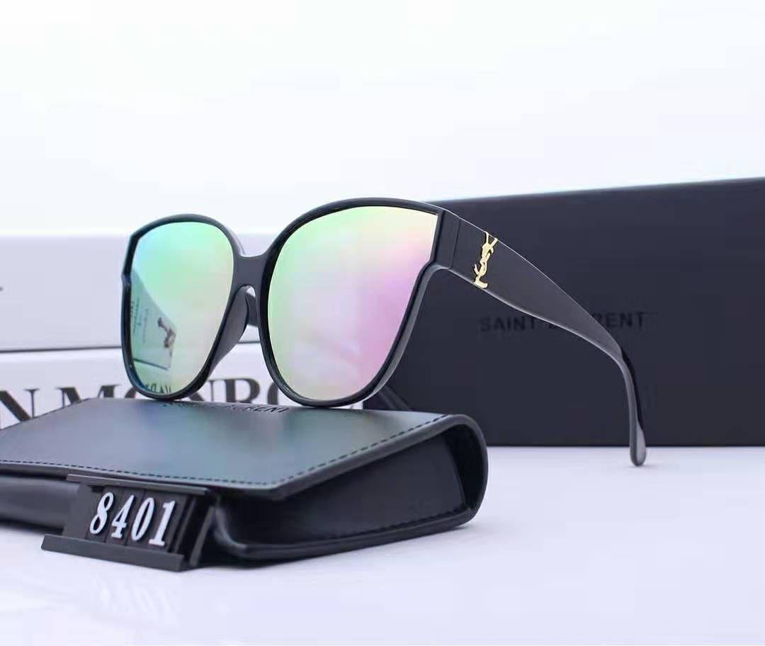 Hot Selling Pilot Style Sunglasses Brand Designer Sunglasses for Men Women Metal Frame Flash Mirror Glass Lens Fashion Soscar Sunglasses